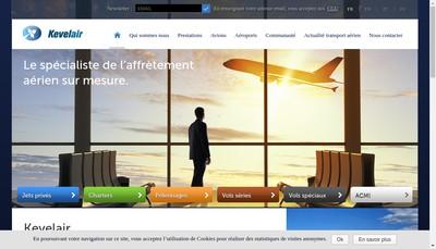 Site internet de Affrètement aérien et location d'avion