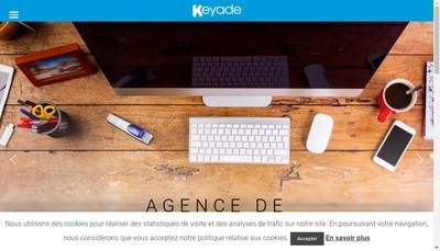Site internet de Keyade