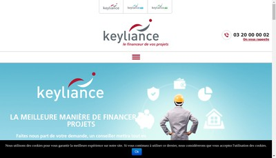 Site internet de Keyliance