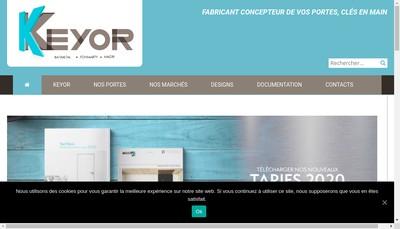 Site internet de Keyor