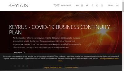 Site internet de Keyrus