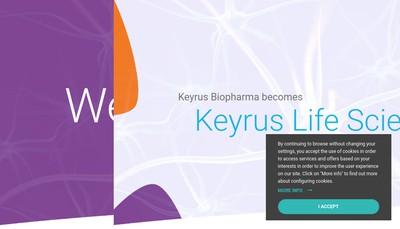 Site internet de Keyrus Biopharma Innovation