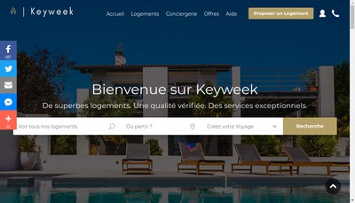 Site internet de Keyweek