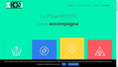 Site internet de Khosi