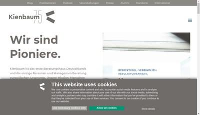 Site internet de Kienbaum SA