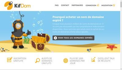 Site internet de Kifcorp