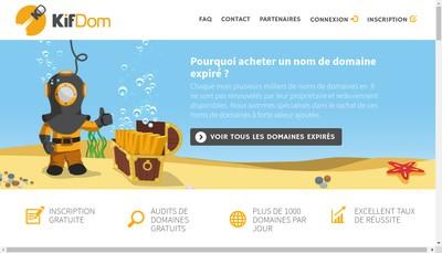 Site internet de Second Souffle