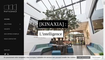 Site internet de Kinaxia