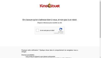 Site internet de King Jouet Logistique