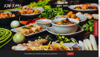 Site internet de Kin Khao