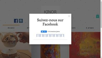 Site internet de Kinor Gallery