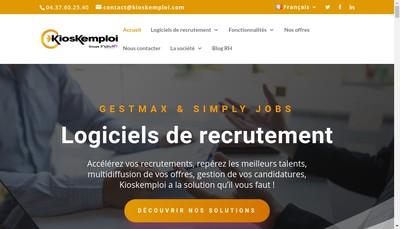 Site internet de Kioskemploi