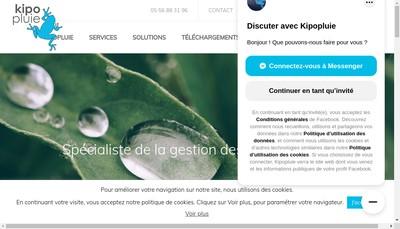 Site internet de Kipopluie