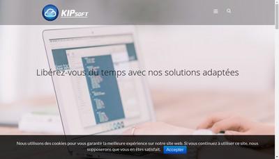Site internet de Kipsoft