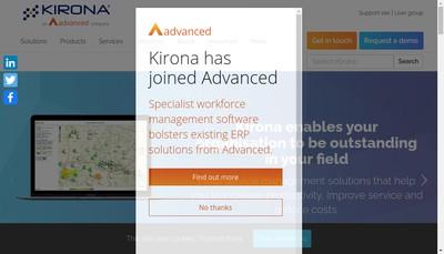 Site internet de Kirona France