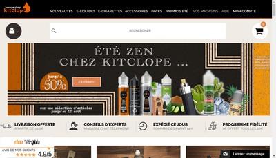 Site internet de Kitclope