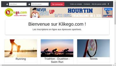 Site internet de Klikego