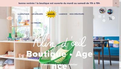 Site internet de Klin d'Oeil