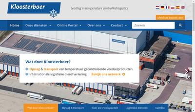 Site internet de Kloosterboer Harnes