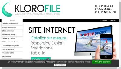 Site internet de Klorofile