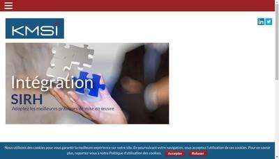 Site internet de Kmsi