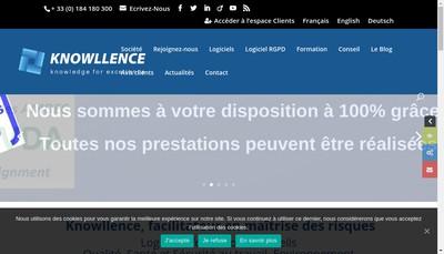 Site internet de Knowllence