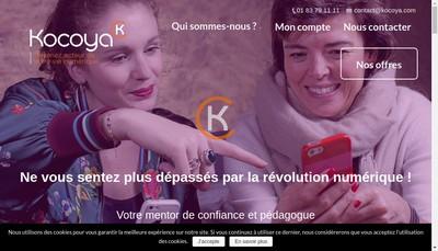 Site internet de Kocoya