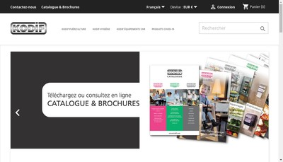 Site internet de Kodif SAS