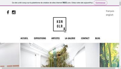 Site internet de Kogan Gallery