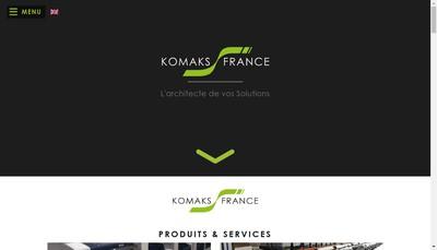Site internet de Komaks - France