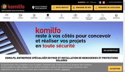 Site internet de Komilfo SAS
