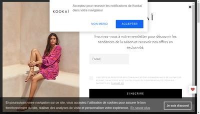 Site internet de Kookai