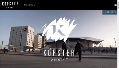 Site internet de Kopster Hotel
