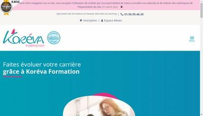 Site internet de Koreva
