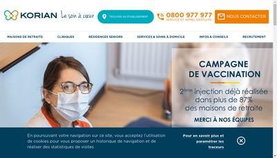 Site internet de Les Omegades
