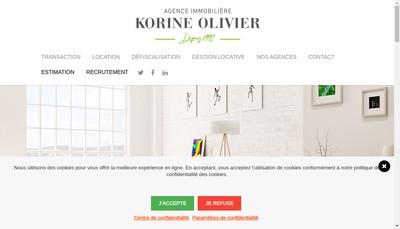 Site internet de Korine Olivier