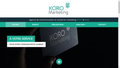 Site internet de Koro