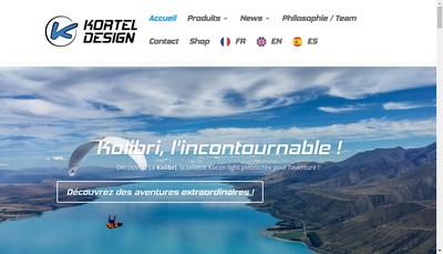 Site internet de Kortel Design