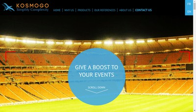 Site internet de Kosmogo