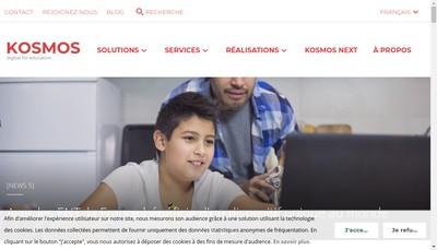 Site internet de Kosmos