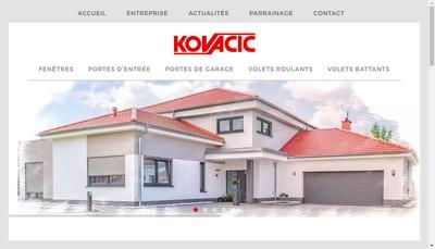 Site internet de Kovacic Habitat