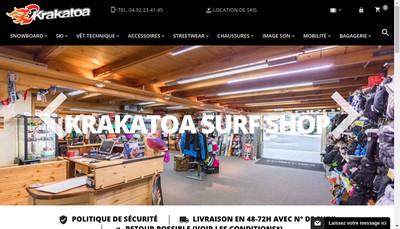 Site internet de Alpesdata