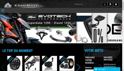 Site internet de Krax-Moto Com