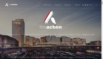 Site internet de Kreaction