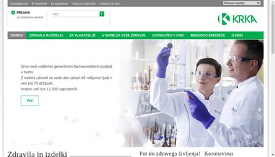 Site internet de Krka France