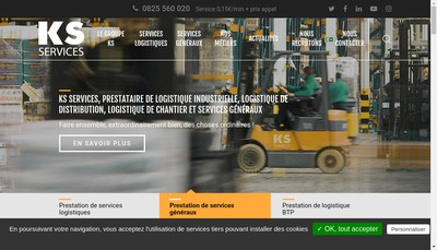 Site internet de Ks Service