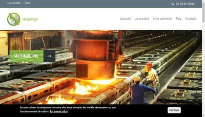 Site internet de SARL Ksk Recyclage