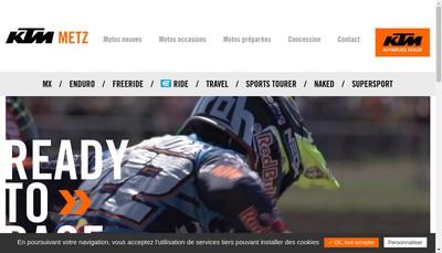 Site internet de Ktm Metz