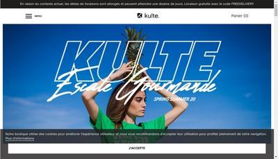 Site internet de Kulte