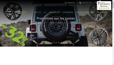 Site internet de Kulture Jeep Occas